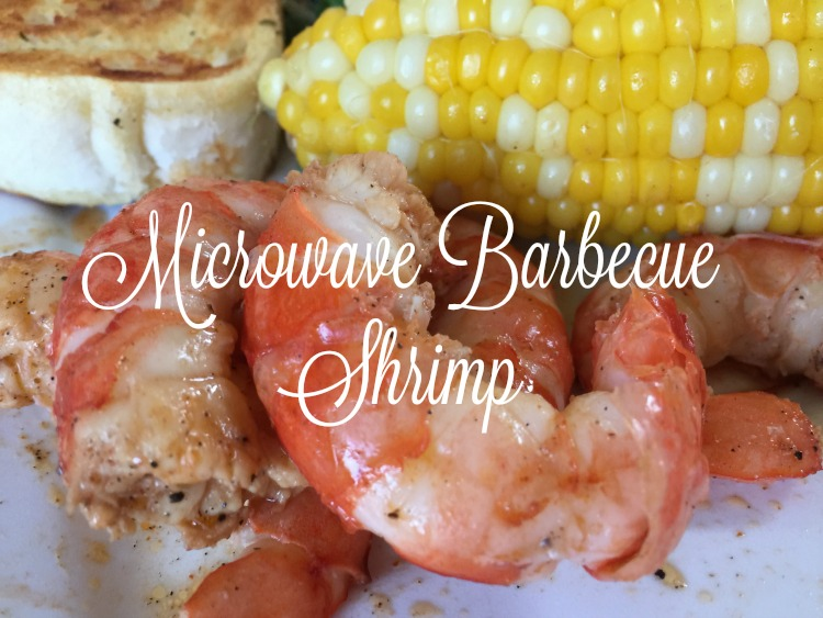 Microwave Barbeque Shrimp and Pascal's Manale