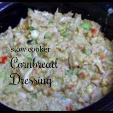 slow cooker cornbread dressing feature diningwithdebbie.net