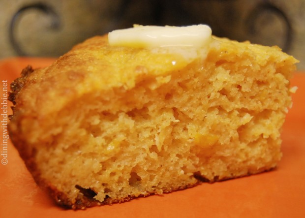 Cheddar Sour Cream Cornbread Recipe — Dishmaps
