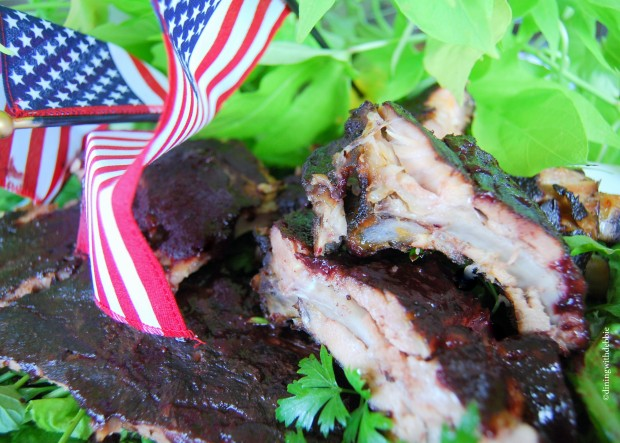 #Virtual #Smokeoff All-American Independence Day Ribs with Super Secret Glaze