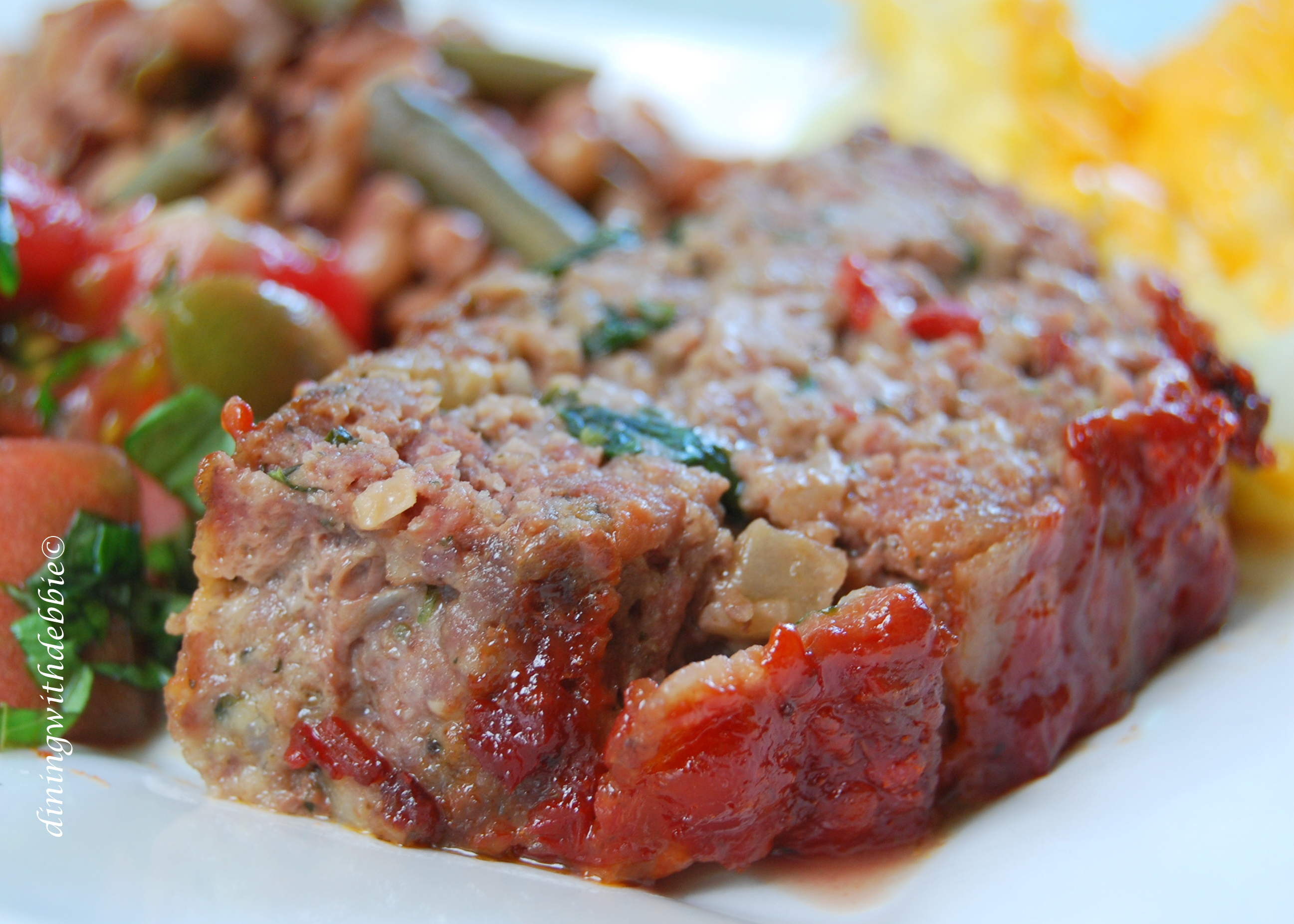 Dining With Debbie | The Very Best Meatloaf - Dining With Debbie