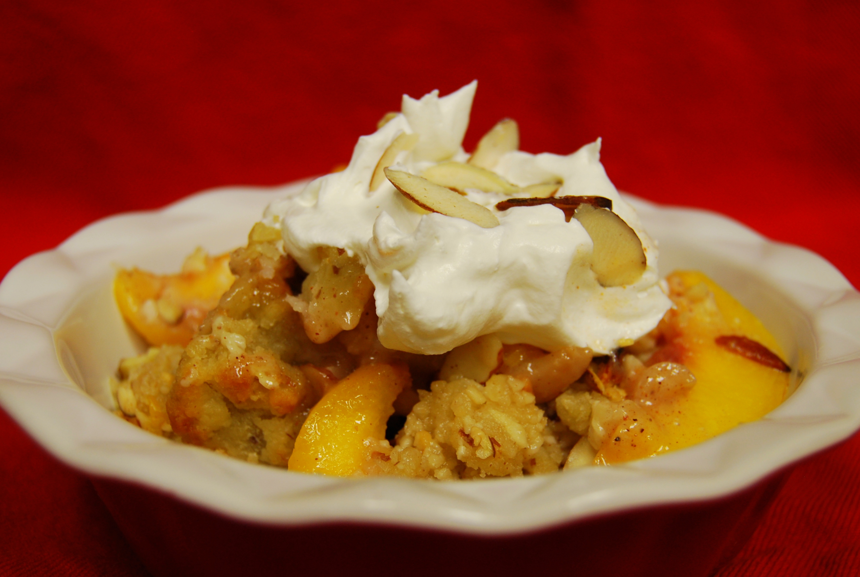 peach cobbler the pioneer woman