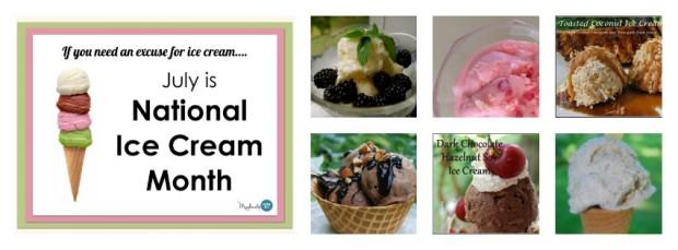 Celebrating National Ice Cream Month {Wordless Wednesday}