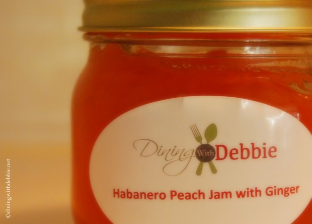 Preserving Summer: Habanero Peach Jam with Ginger