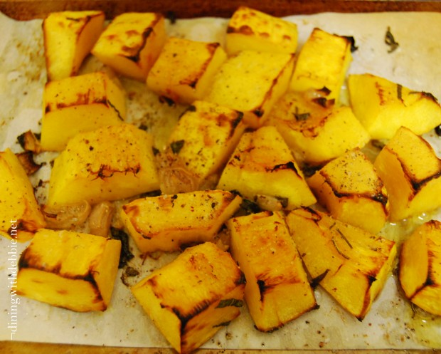Roasted Pumpkin with Browned Butter and Sage | Dining With ...