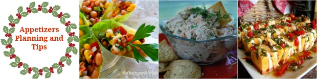 Appetizers: Planning and Tips