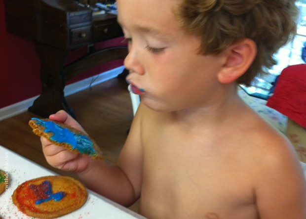 Making Memories and a Few Cookies {Wordless Wednesday}