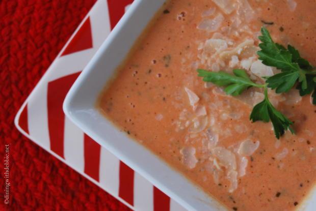 cream of tomato basil soup 2