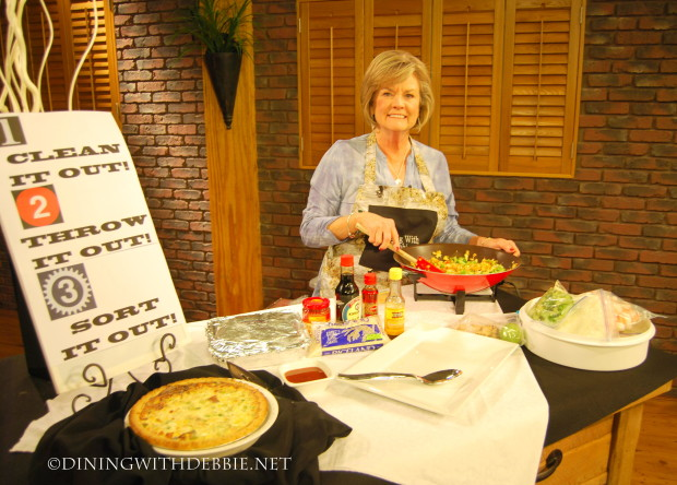 thv 11 appearance on being freezer fit dining with debbie