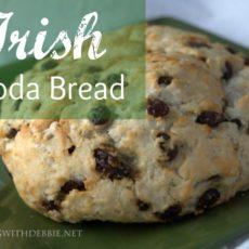 Irish Soda Bread via diningwithdebbie.net