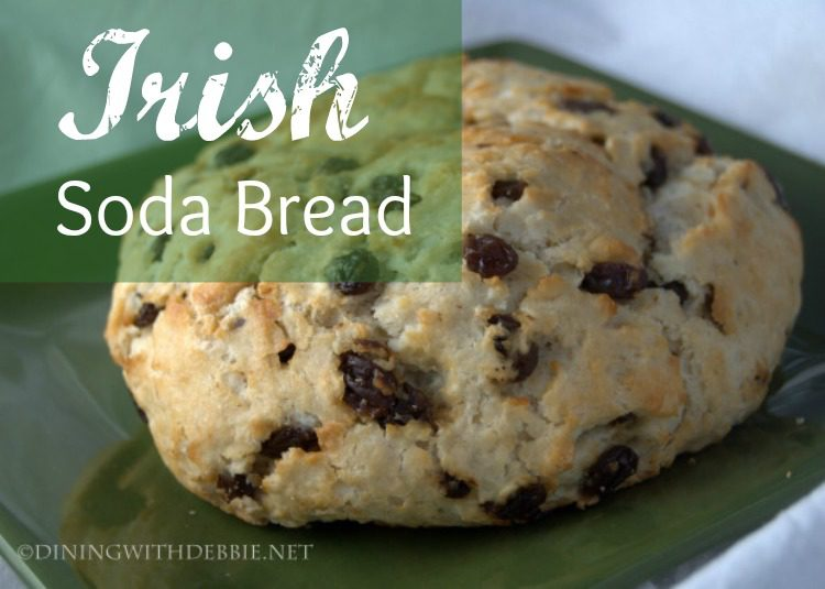 Irish Soda Bread via diningwithdebbie.net
