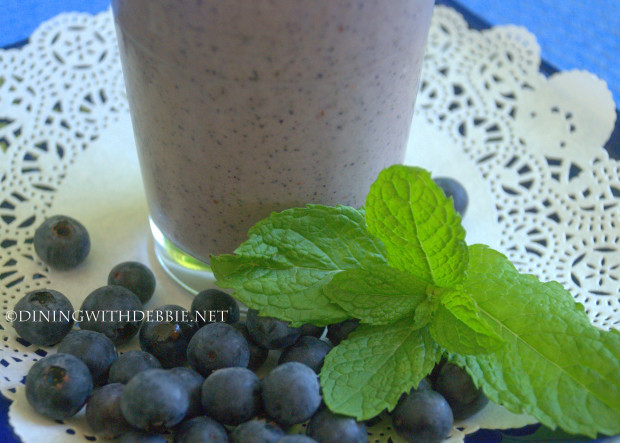 Berry Tempting Blueberry Smoothie