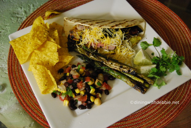 corn and black bean salsa from diningwithdebbie