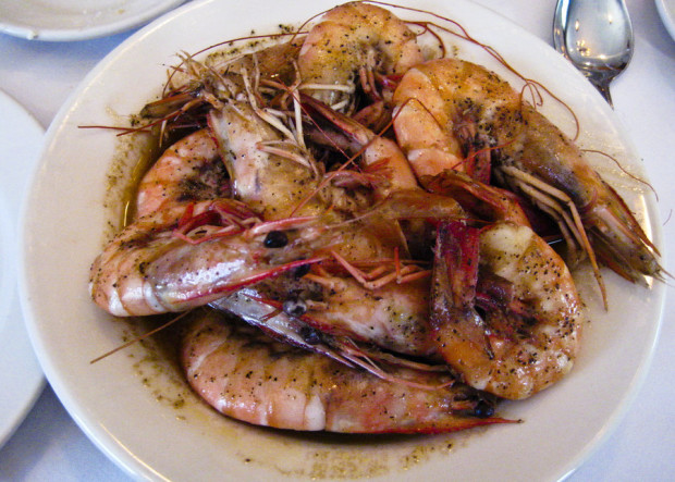 We learned to love BBQ Shrimp at Pascal's Manale in New Orleans.
