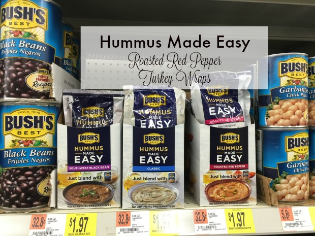 It Really Is: #HummusMadeEasy {Smoked Turkey Wraps}