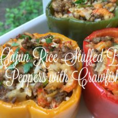 riceland stuffed peppers with crawfish