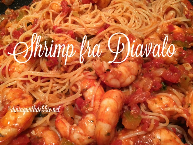 Shrimp Fra Diavolo My Way