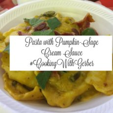 pumpkin sage cream sauce featured