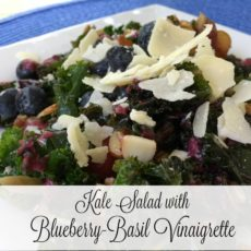 blueberry basil vinaigrette feature
