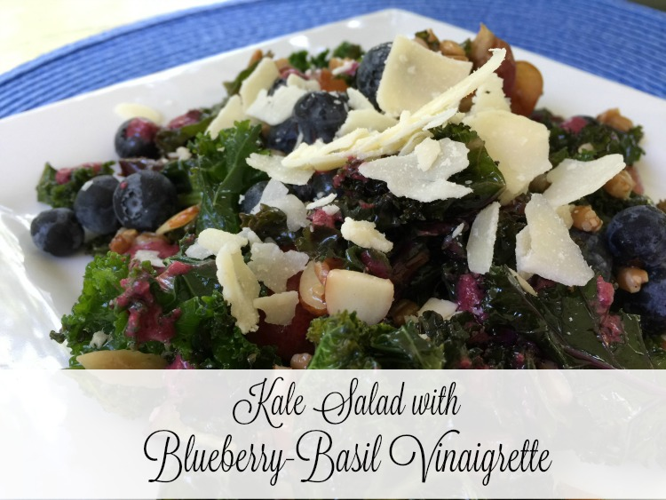 Blueberry-Basil Vinegar and Vinaigrette {Kitchen Basics}