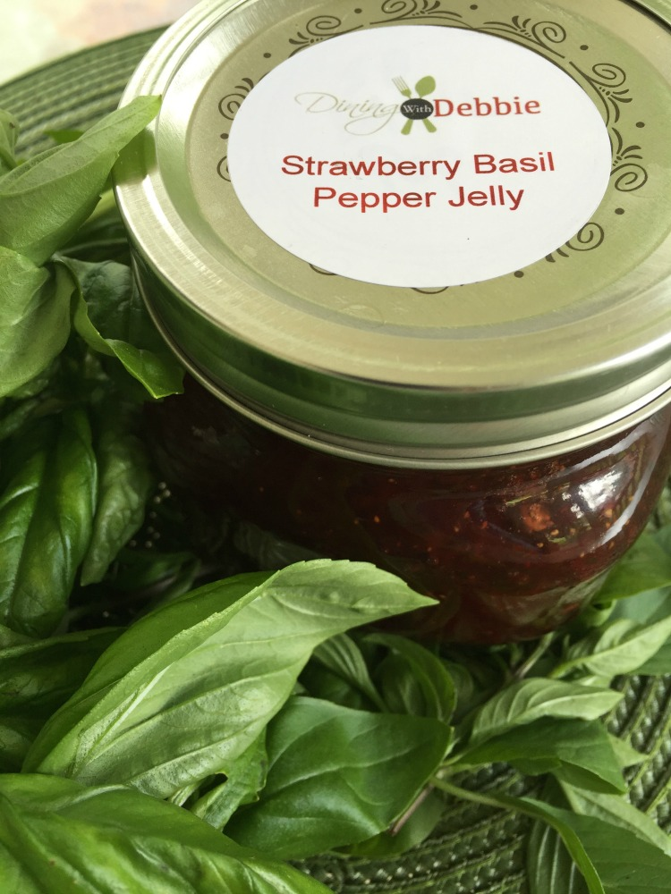 strawberry basil pepper jelly vert