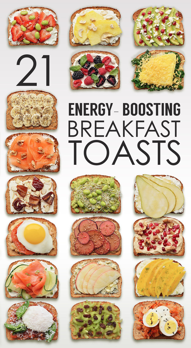 21 breakfast toasts