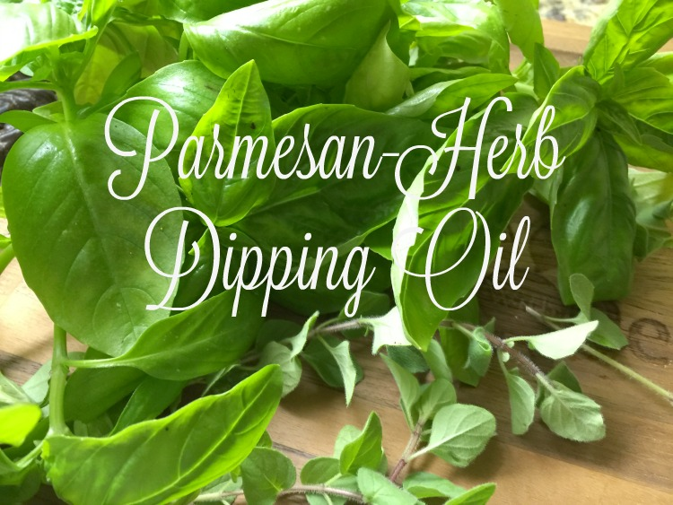 Parmesan-Herb Dipping Oil {Kitchen Basics}