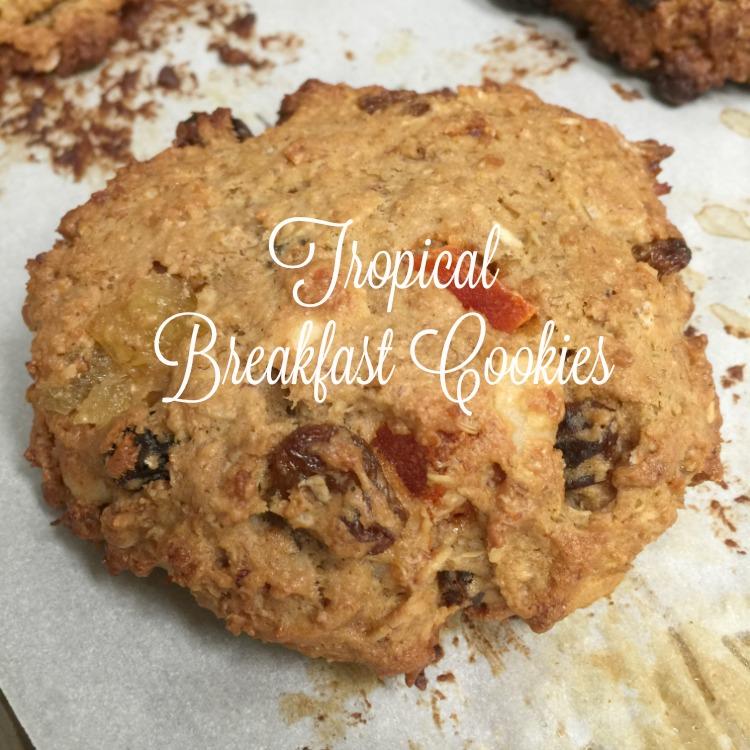 Tropical Breakfast Cookies