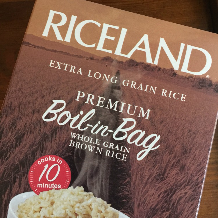 rice, brown rice, boil-in-bag, Riceland Foods, brown rice salad