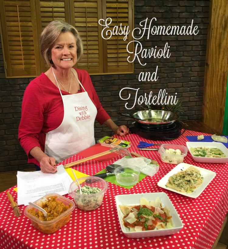 Easy Homemade Ravioli and Tortellini for National Pasta Month