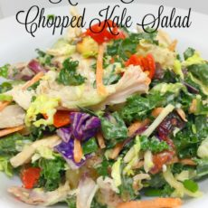 kitchen sink chopped kale salad vertical diningwithdebbie