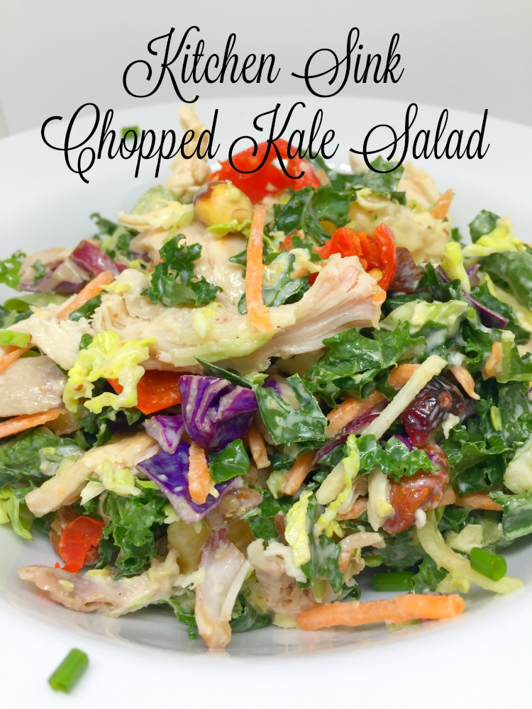 Kitchen Sink Chopped Kale Salad