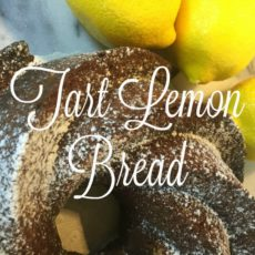 Tart Lemon eBread - Dining With Debbi