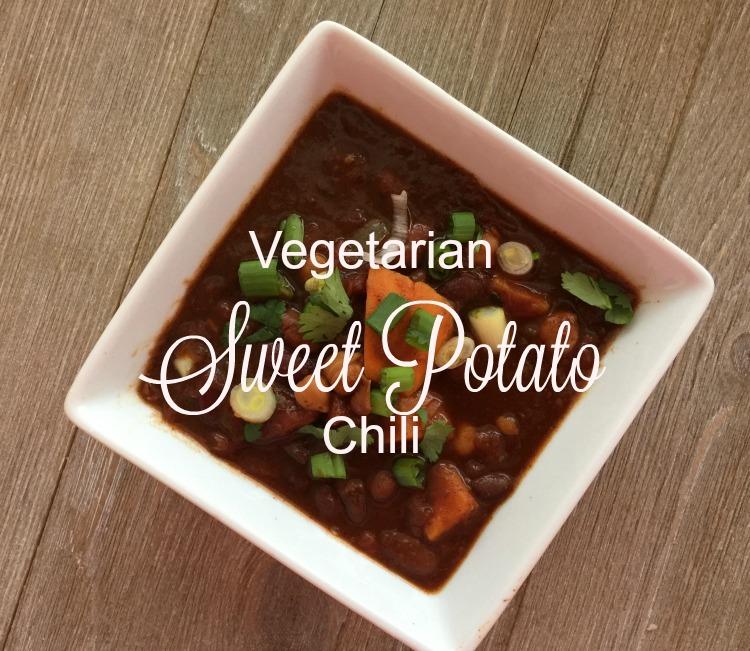 Vegetarian Sweet Potato Chili {Slow Cooker}