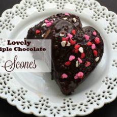 lovely triple chocolate scones diningwithdebboe.net