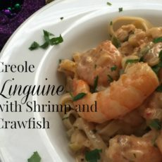 Creole Linguine with Shrimp and Crawfish diningwithdebbie..net