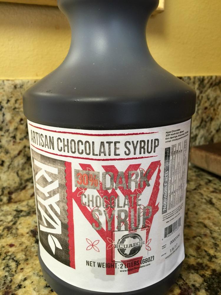 Kyya Choclate Syrup diingwithdebbie.net