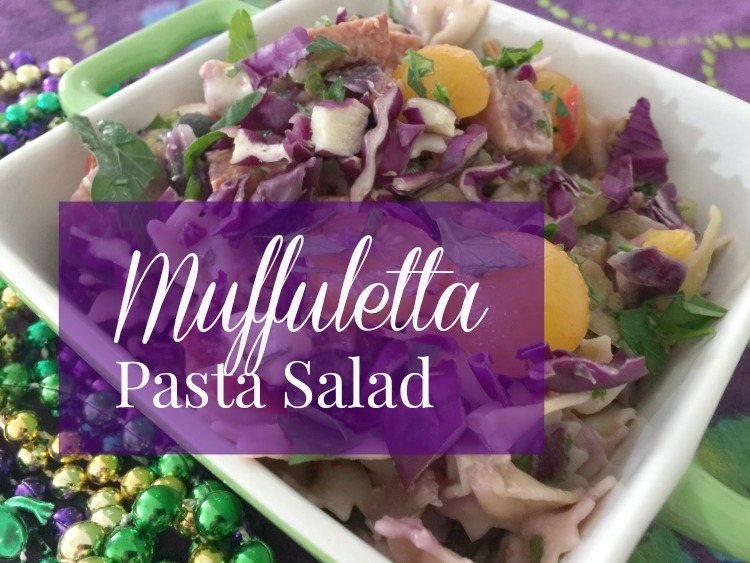 New Orleans Muffuletta Pasta Salad