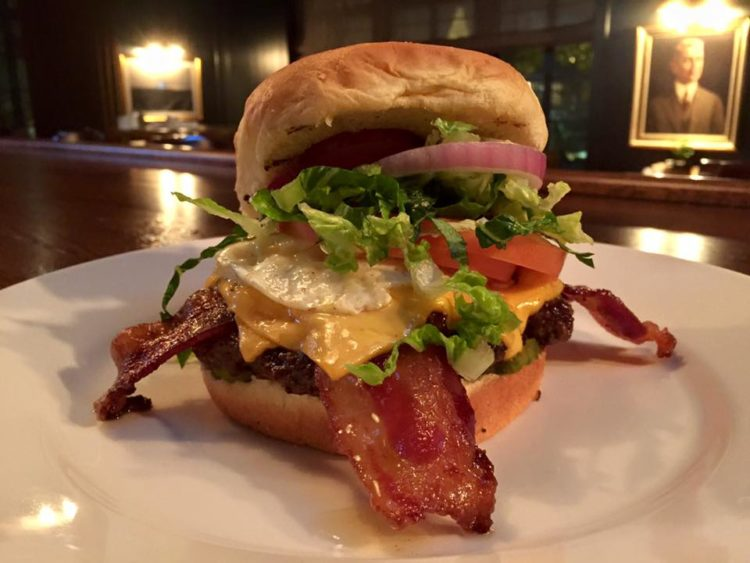 The Wilson Cafe burger