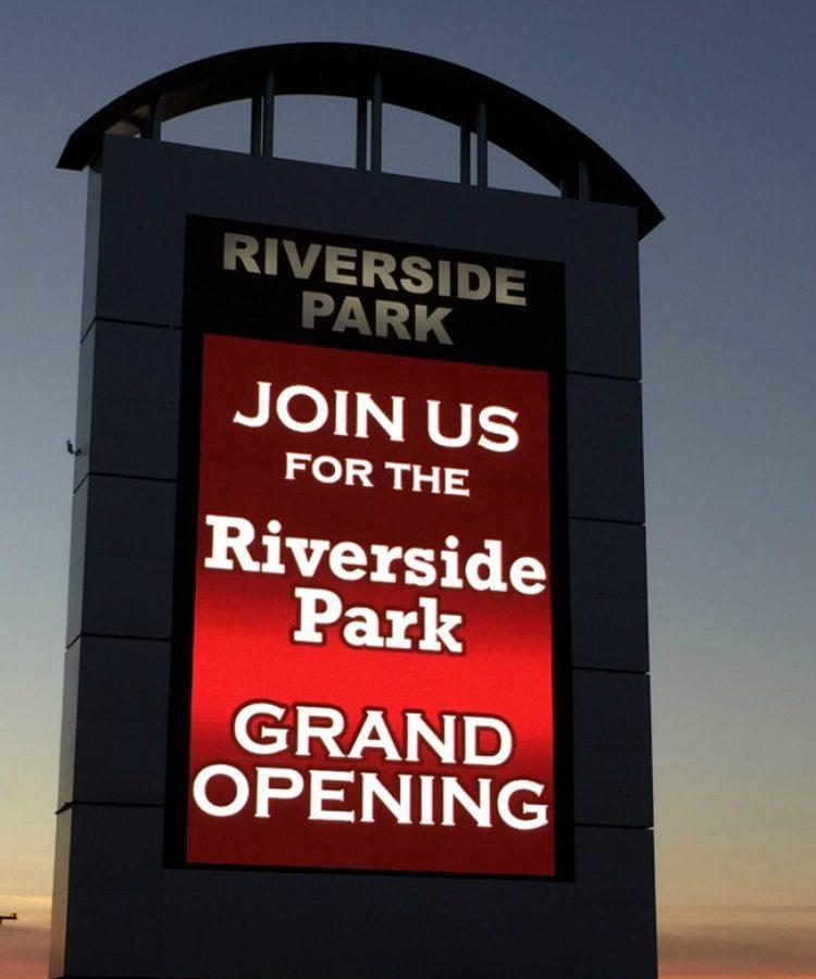 Riverside Park marquee diningwithdebbie.net