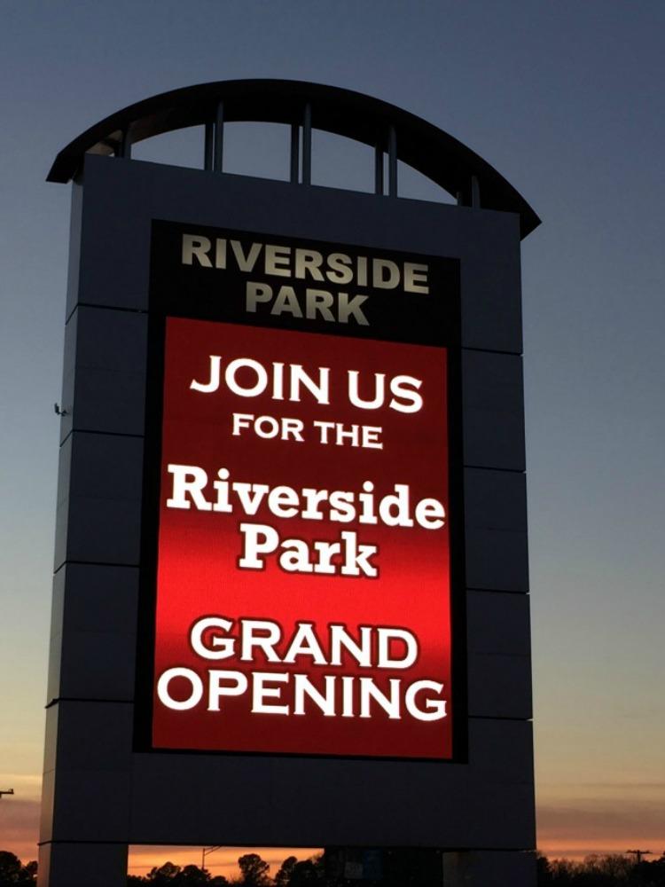 Benton's Riverside Park Grand Opening