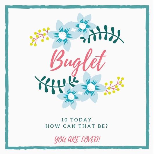 Happy Birthday Buglet!