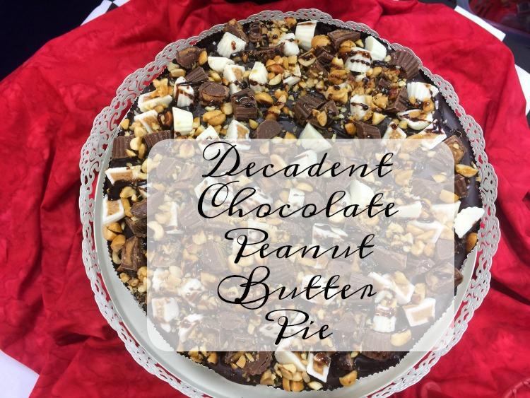 Decadent Chocolate Peanut Butter Pie