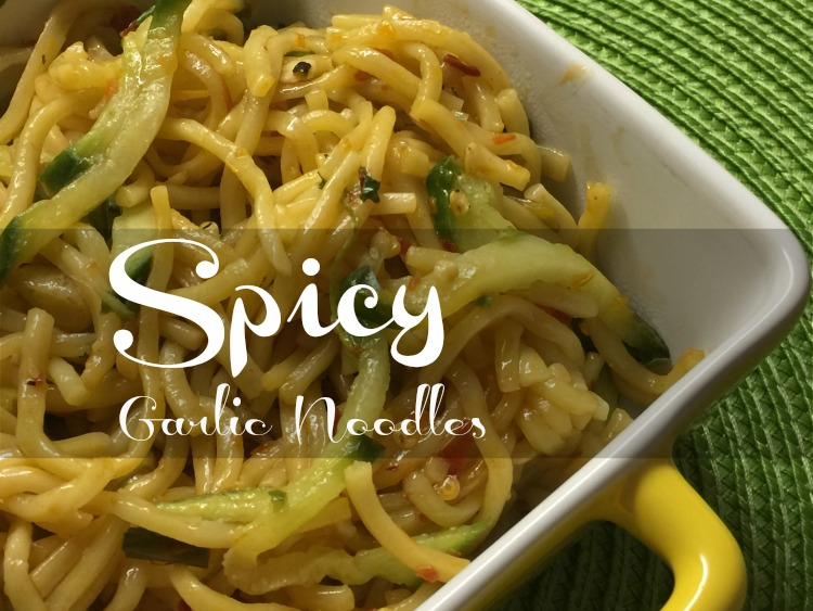 My Spicy Take on P.F. Chang's Garlic Noodles