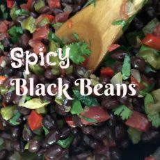 Spicy Black Beans diningwithdebbie.net