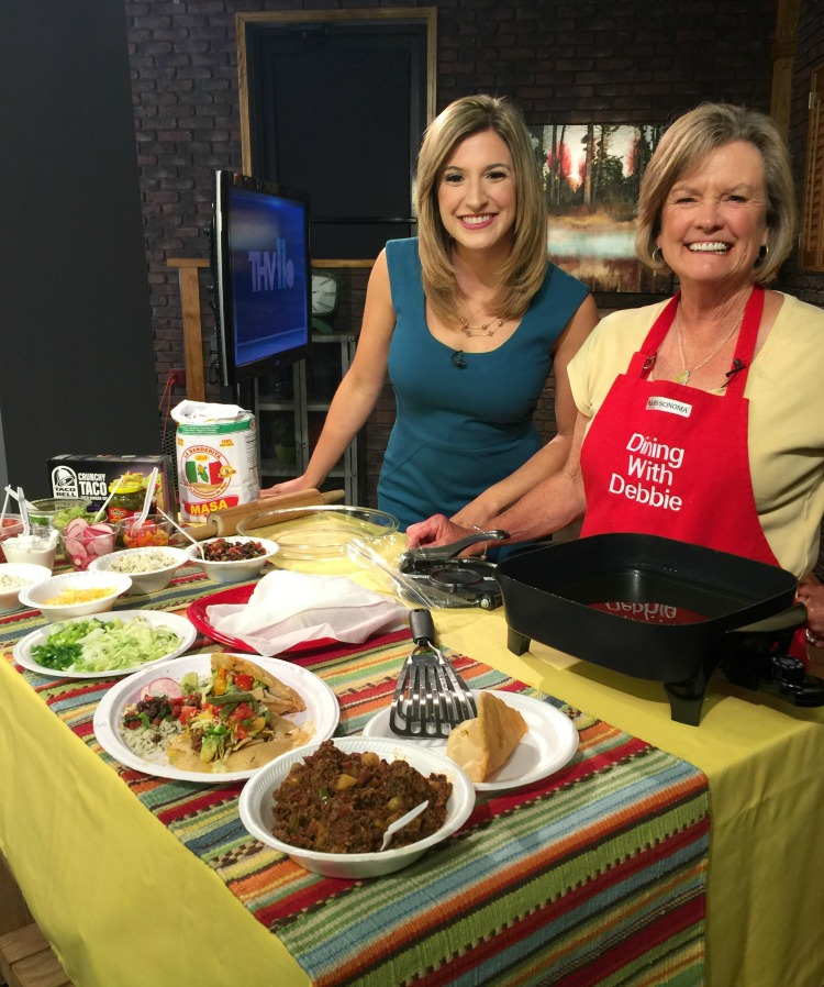 THV11 Spicy Black Beans diningwithdebbie.net