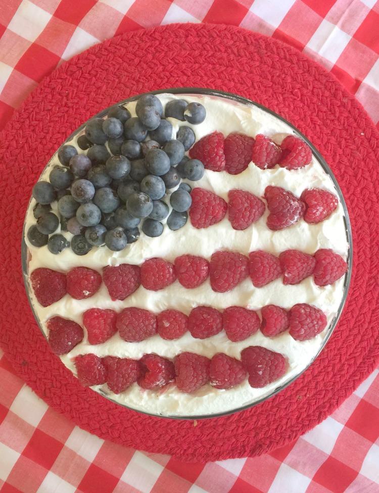 patriotic trifle no bake dessert diningwithdebbie.net