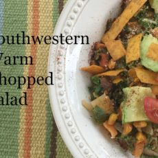 Southwestern Warm Chopped Salad diningwithdebbie.net