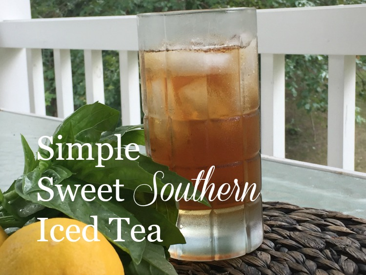 Kitchen Basics: Simple Sweet Southern Iced Tea