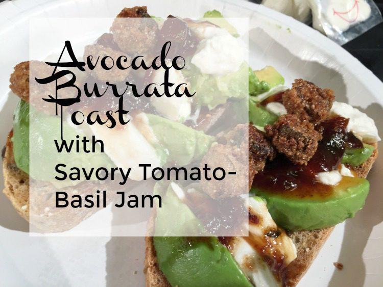 avocado burrata toast diningwithdebbie.net